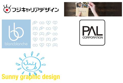 制作/撮影/編集等クリエイティブ関連企業ロゴ